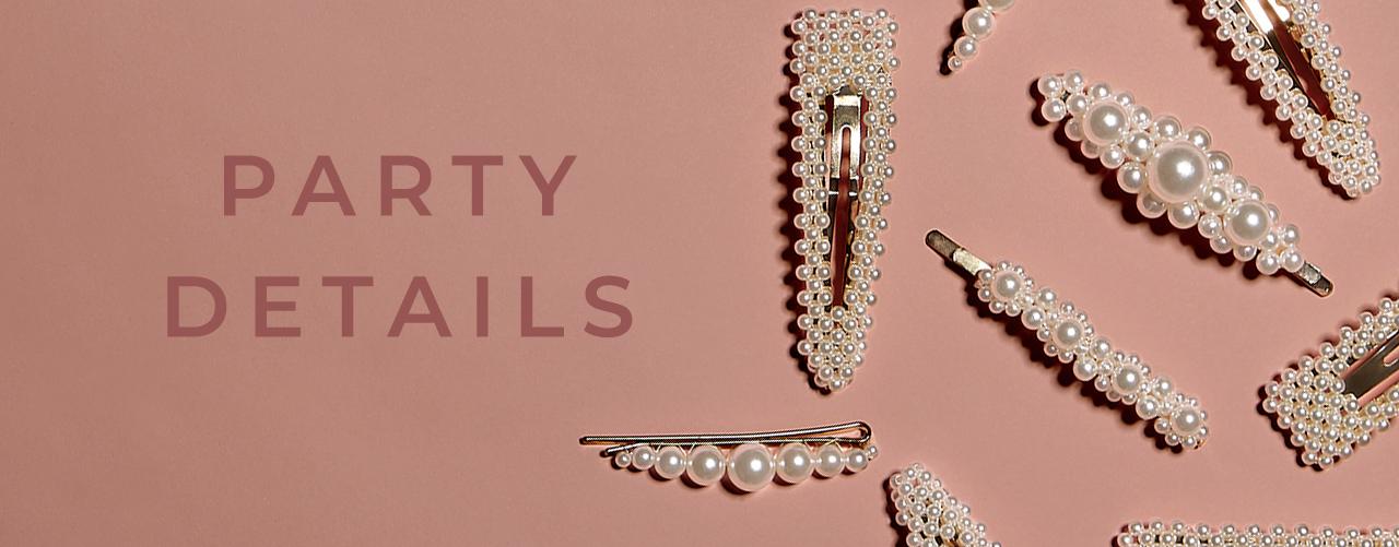 Hårsmycken, örhängen och halsband - shoppa accessoarer på bubbleroom