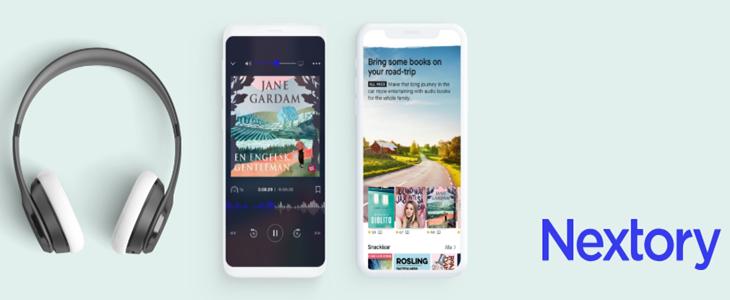 Nextory - Appen för ljudböcker och eböcker