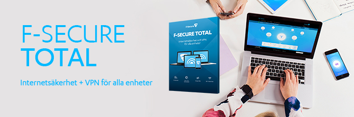 NYHET! F-Secure TOTAL