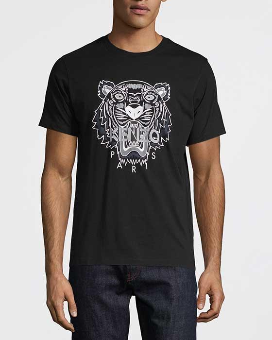Kenzo Tiger T-shirt Svart