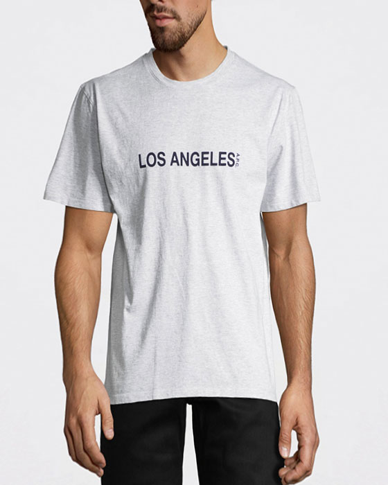 Los Angeles T-shirt Ljusgrå